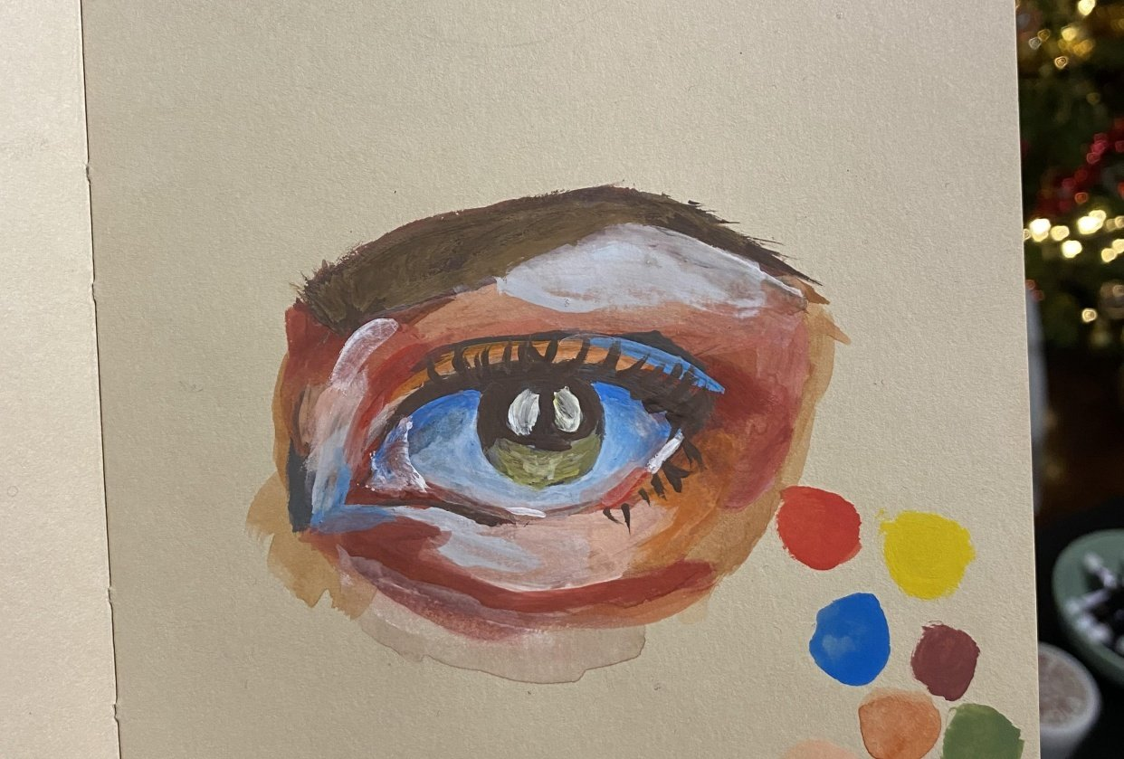 First gouache project - student project
