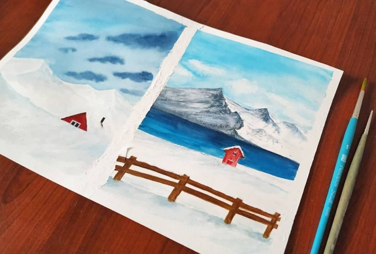 * Let it snow * - student project