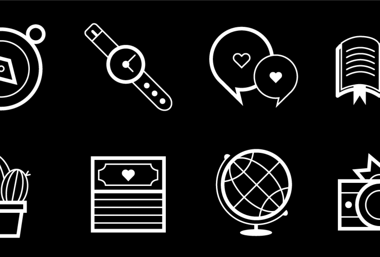 Icon set - student project