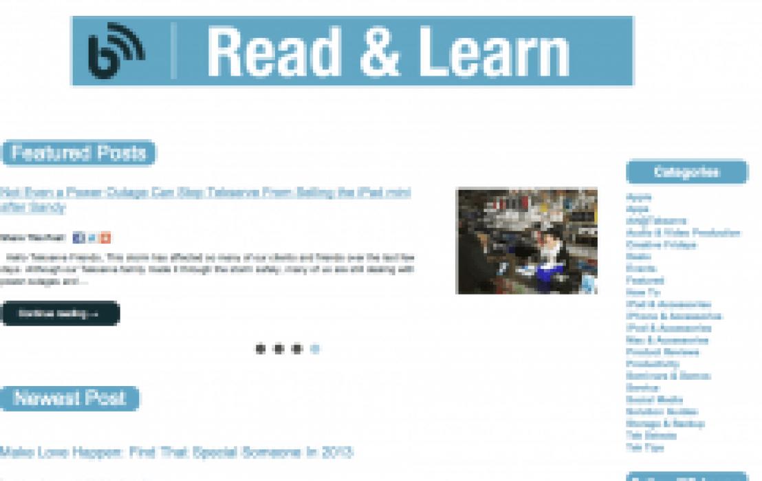 Tekserve Blog User Acquisition Project - student project