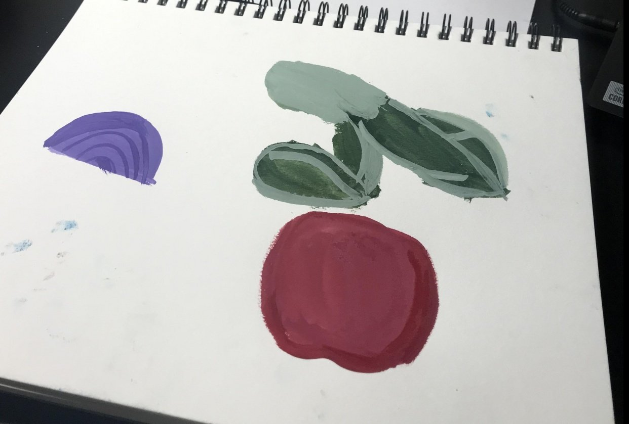 Beginner at everything, had lots of fun - student project