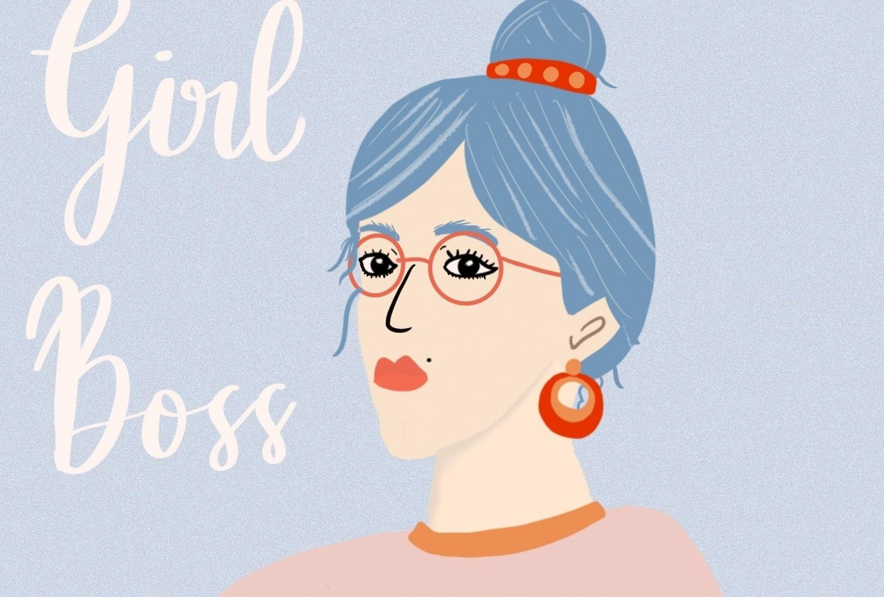 Girl Boss - student project