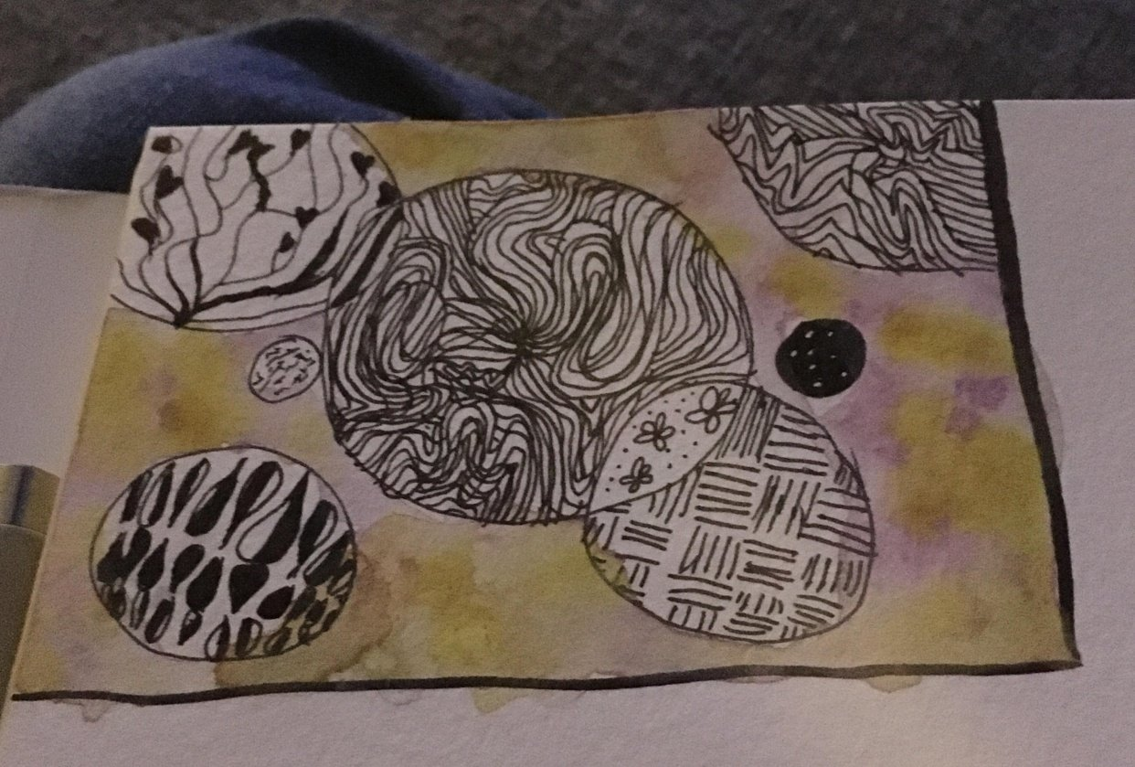 My best doodle thanks to this class - student project