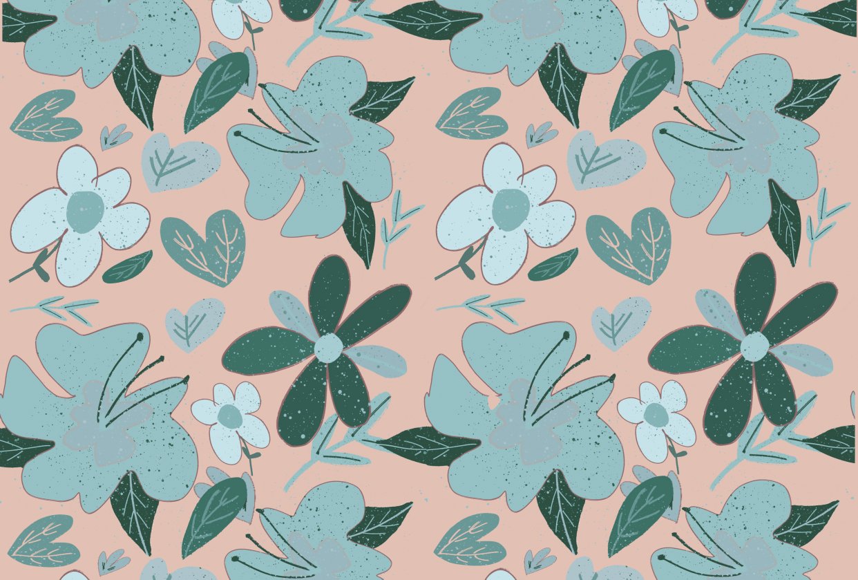 Flower pattern - student project