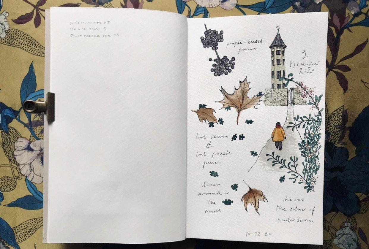 Sketchbook Illustration - student project
