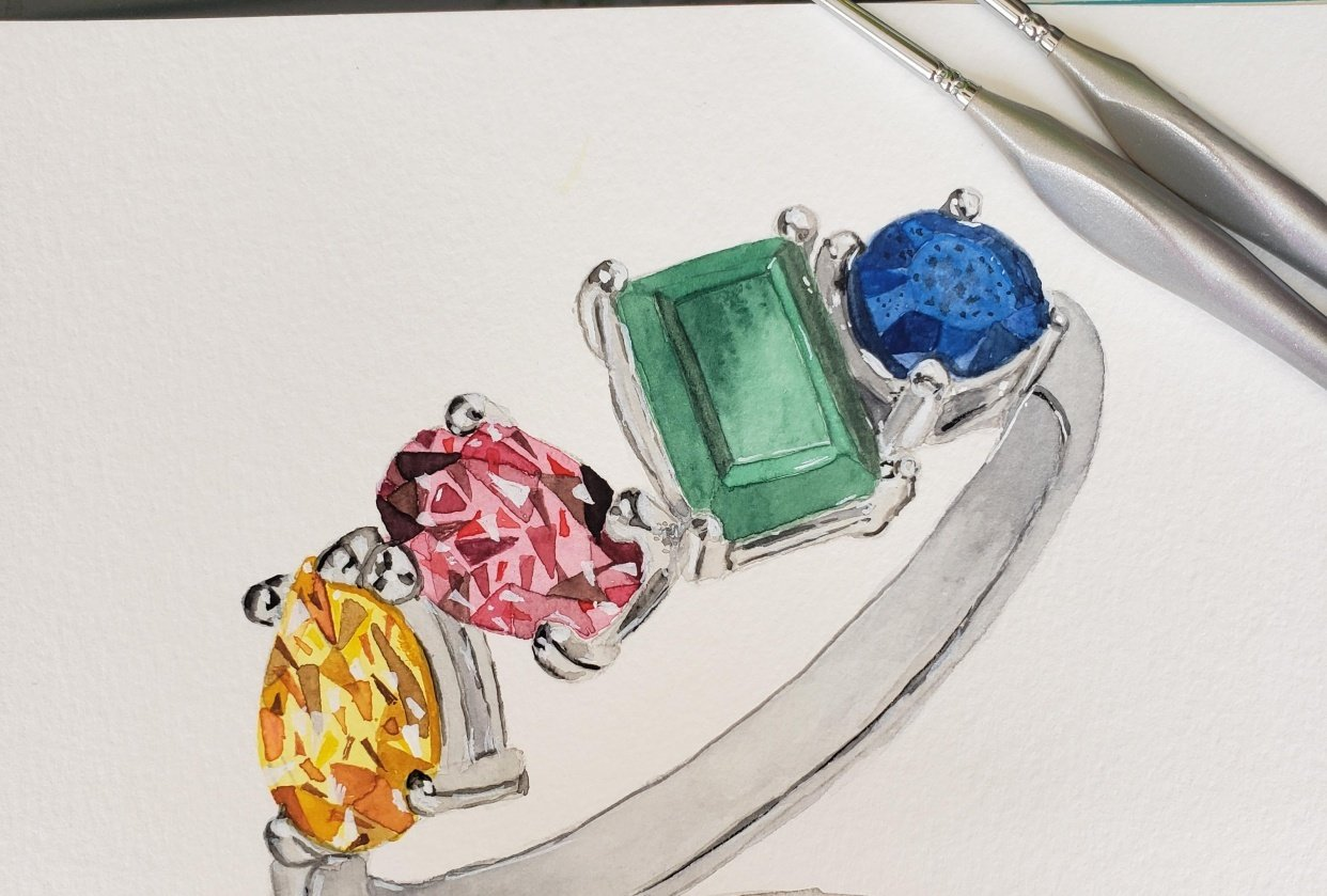Final ring - student project
