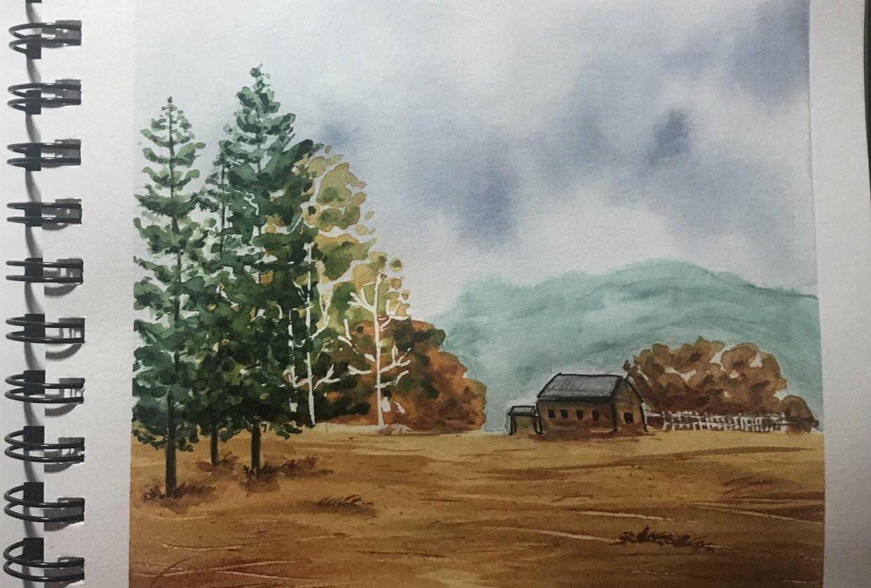 Landscape #01 - student project