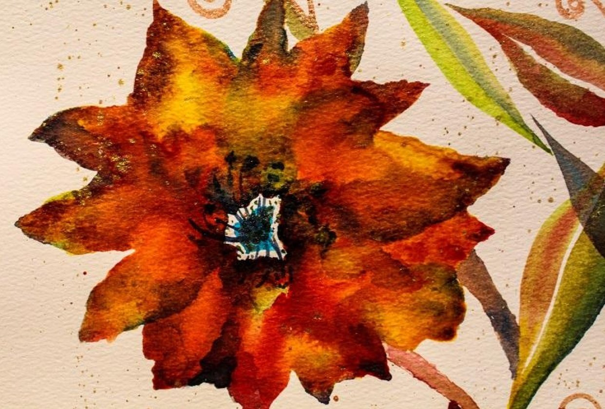 Round #2 to bring in the New Year....Maple Poppies... - student project