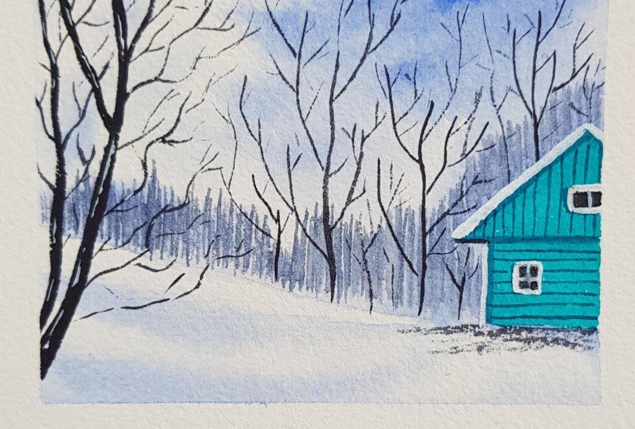 Snow landscapes - student project