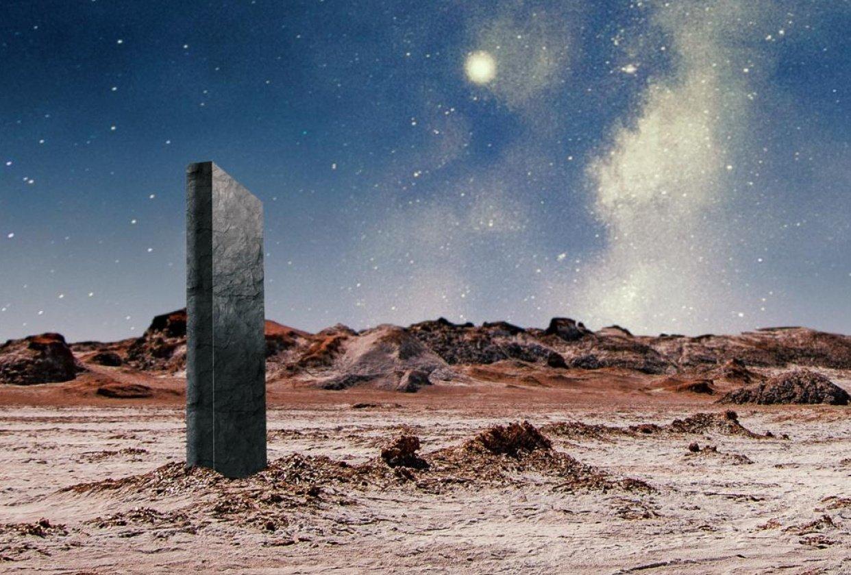 Alien Landscape - student project