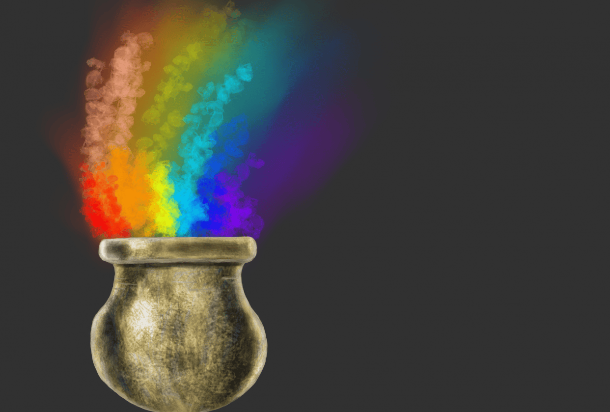 Gold pot - student project