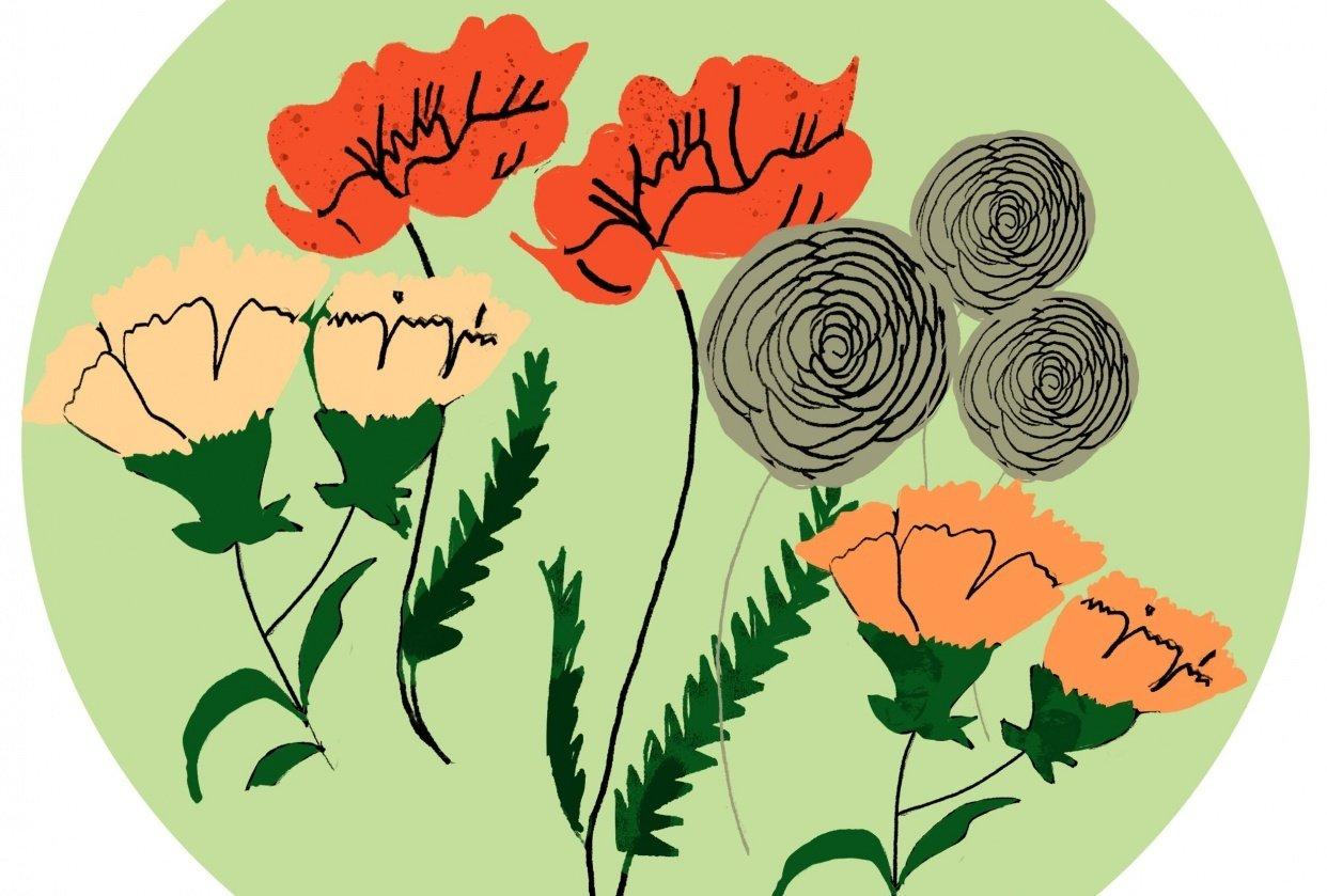 flower bouquet - student project