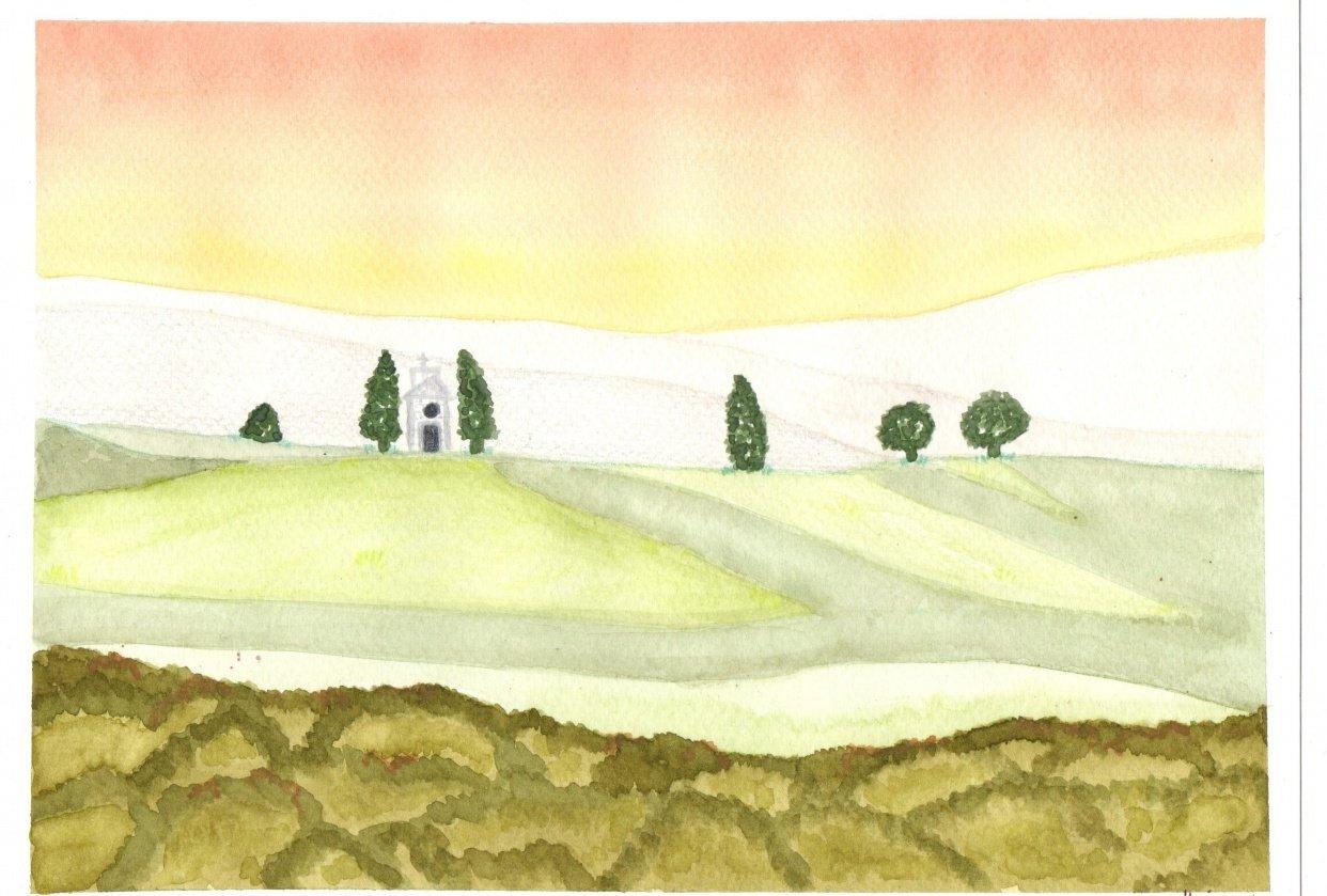 1st Landscape - student project