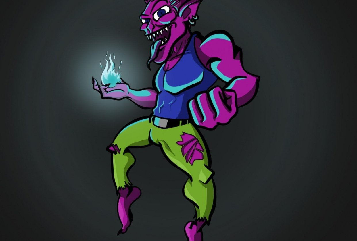 Vance- The Purple Goblin - student project