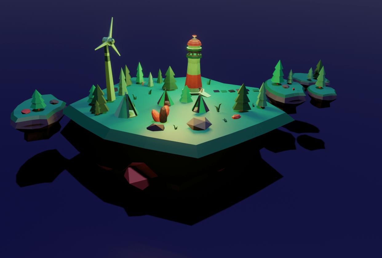 Magic Island - student project