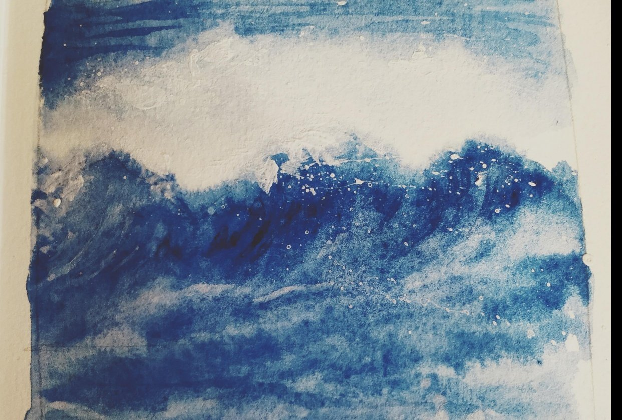 Ocean wave study - student project