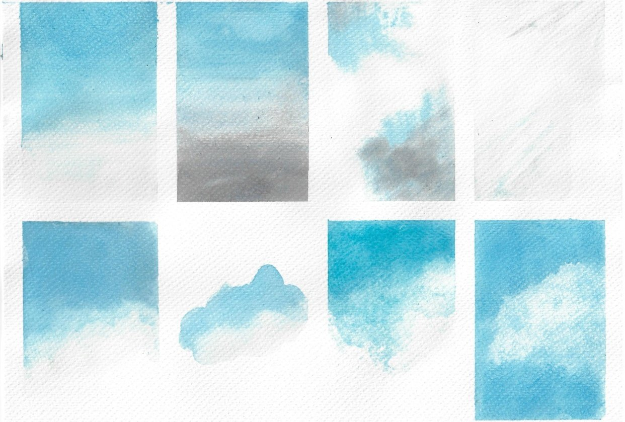 Watercolour Skies - student project