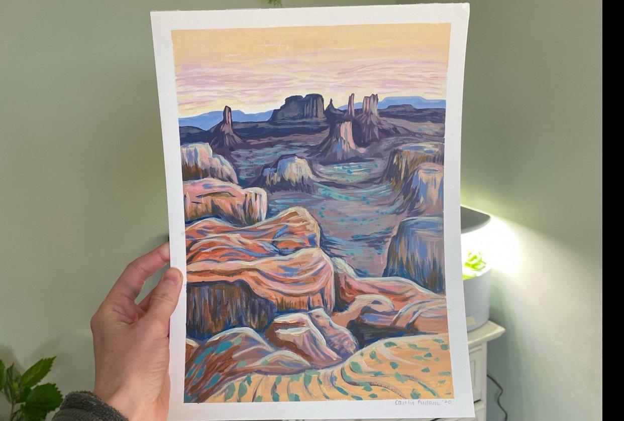 desert vista - student project