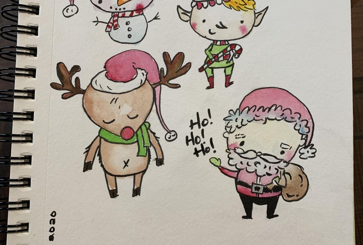 My Christmas Cuties - student project