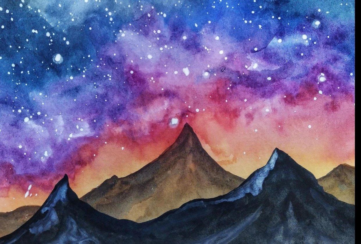 Night Galaxy - student project