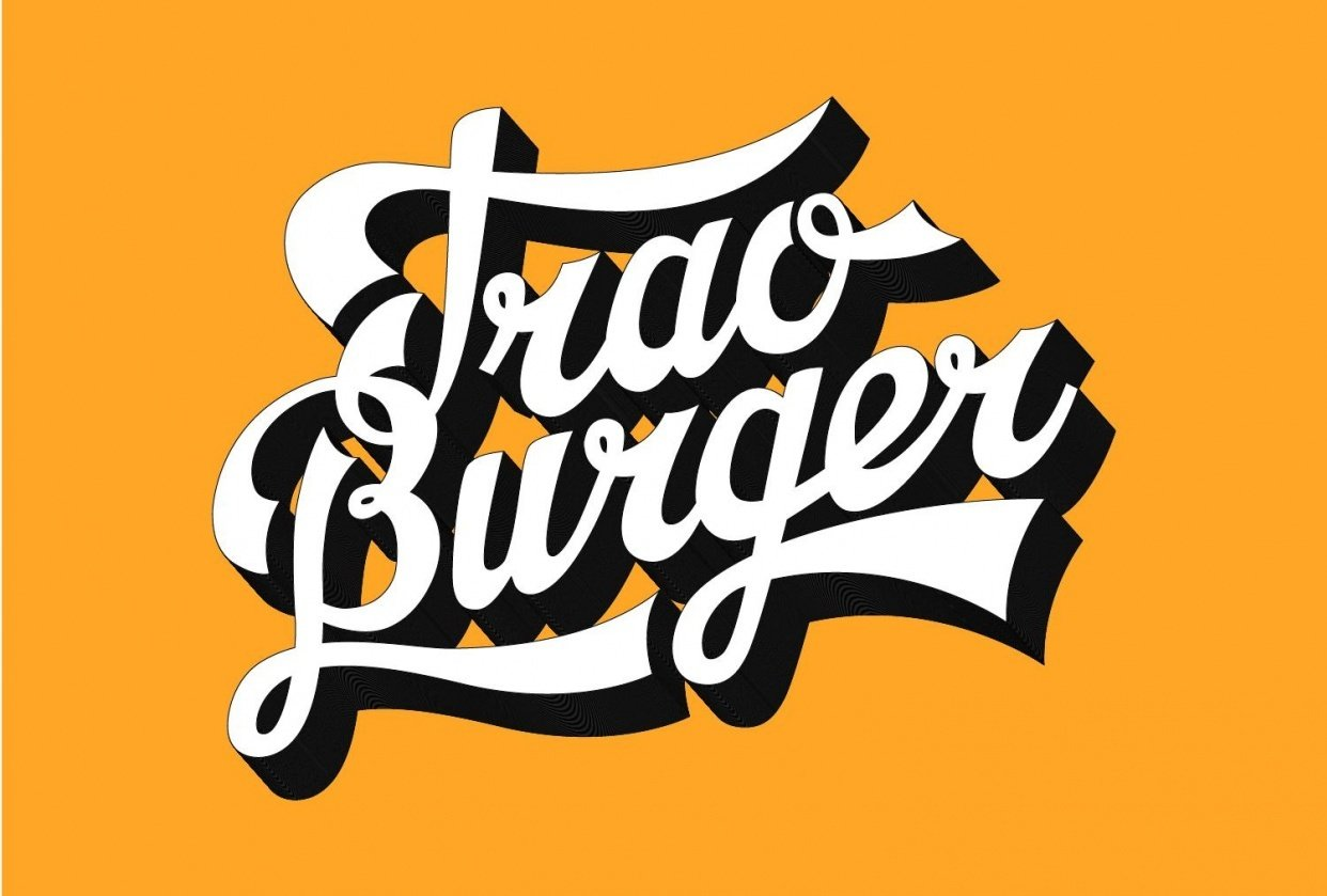 Trao Burger Logo - student project