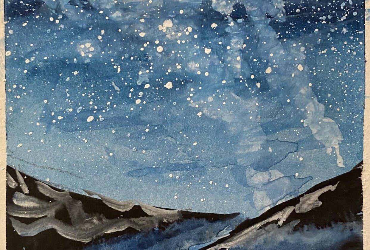 Dreamy Night Sky - student project