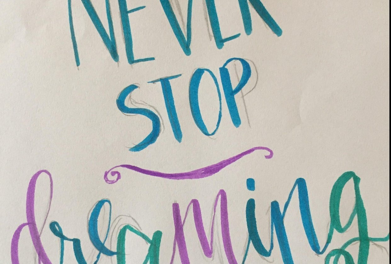 My Brush Lettering Project - student project