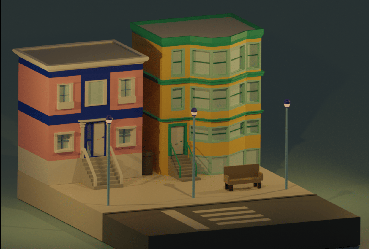 Buildings! - student project