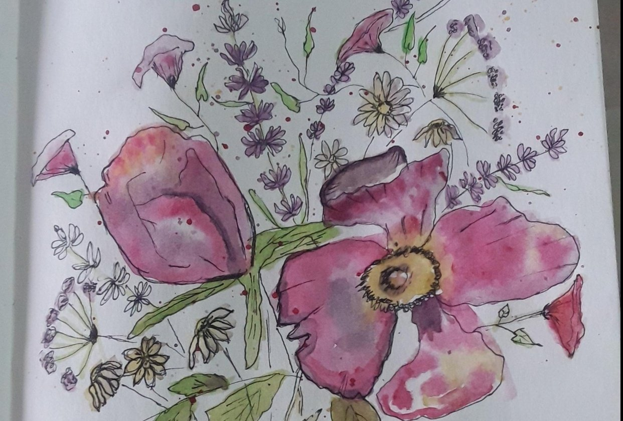Bouquet of flowers - Lakshmi - student project