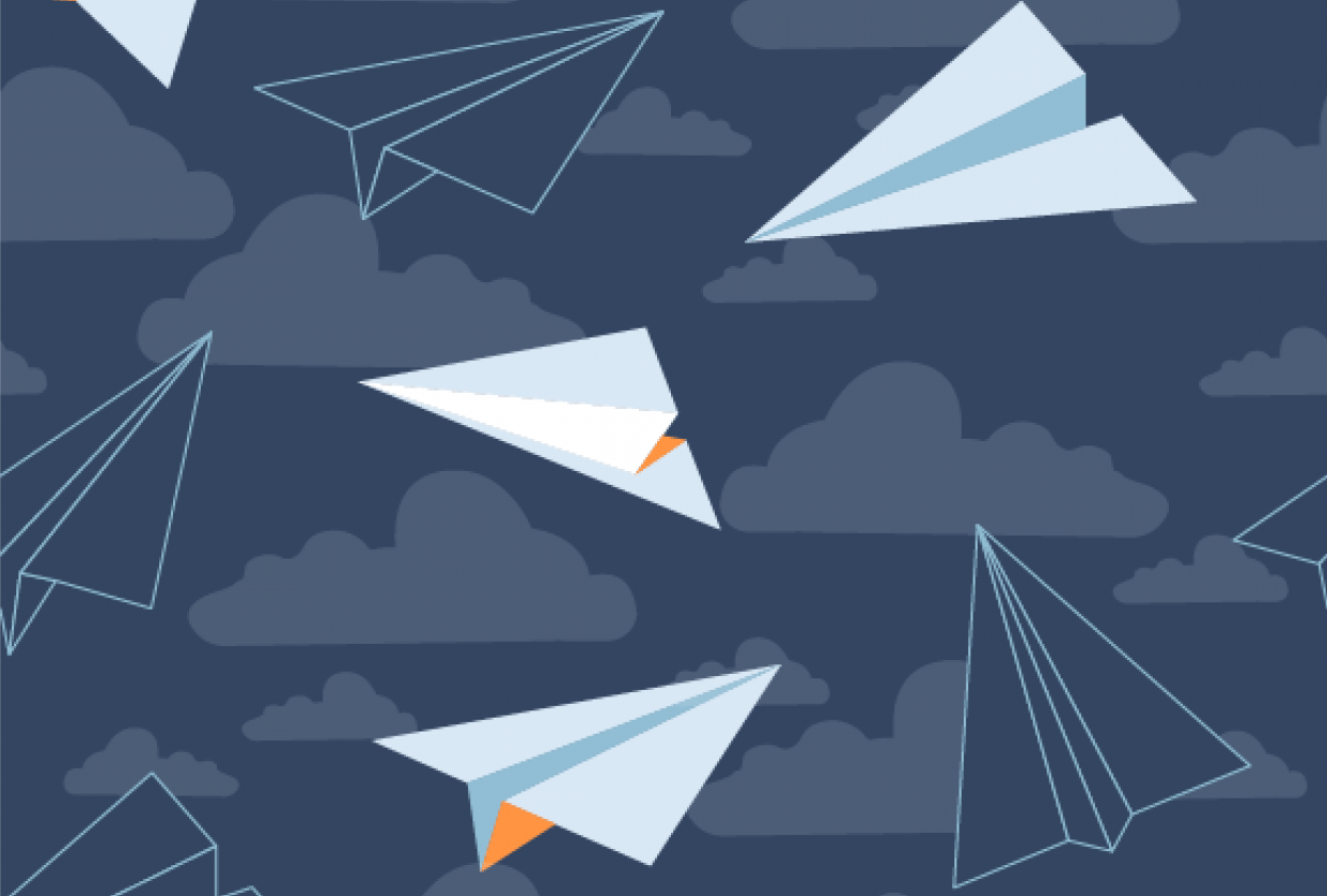 Paper Planes Repeat - student project
