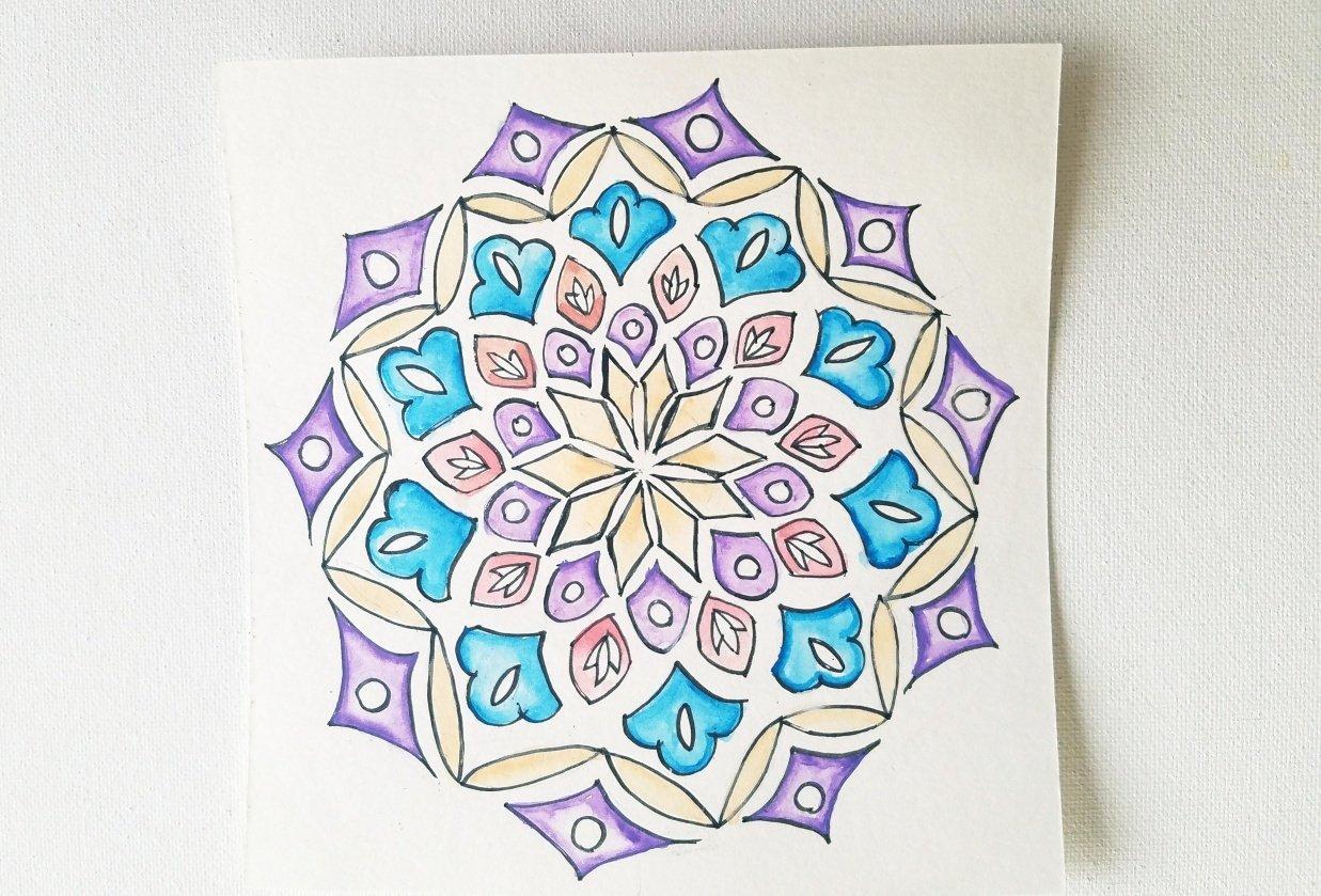 Motif Mandala - student project