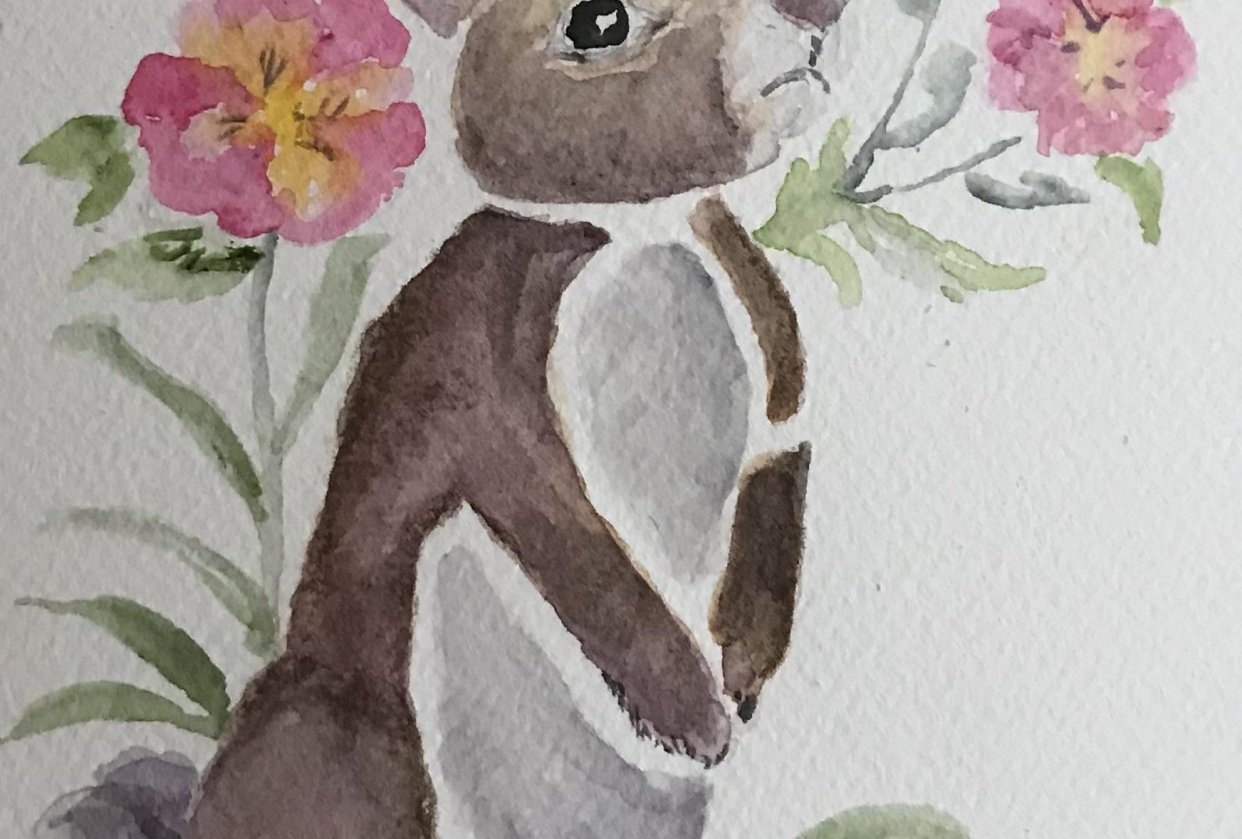 A Bunny - student project