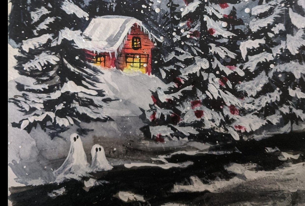 snow ghosts - student project