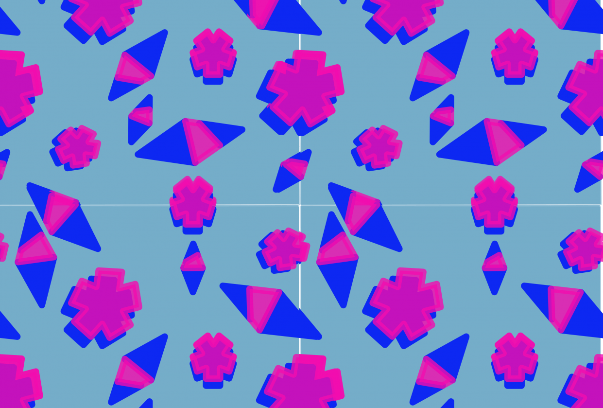 elle's repeating pattern - student project