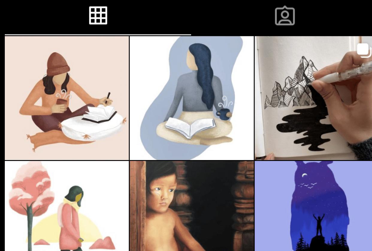 Instagram Progress - student project