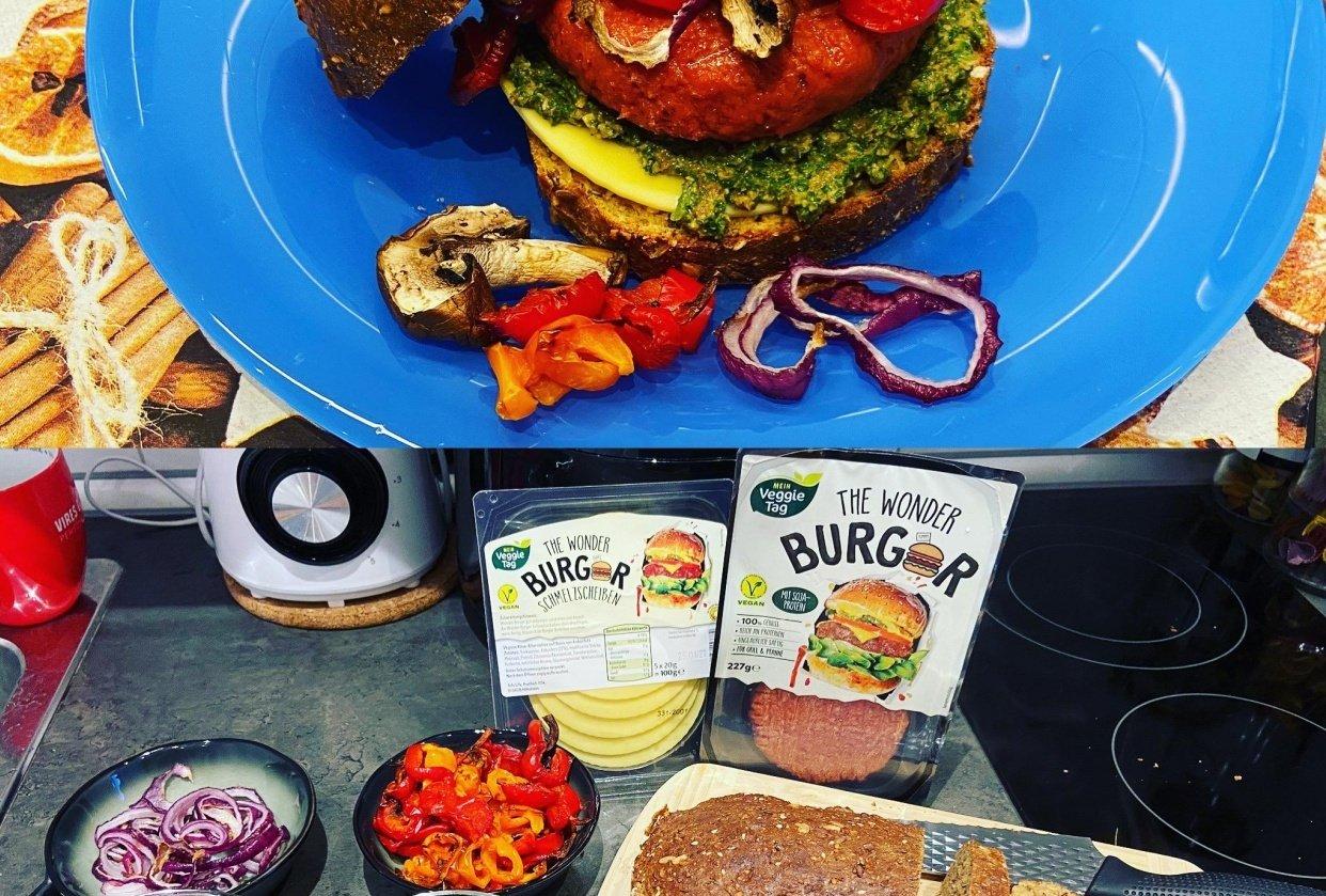 yummy Vegan food - student project