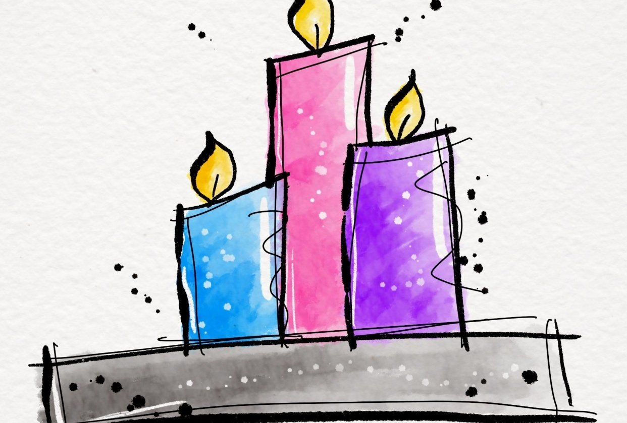 Candles - student project