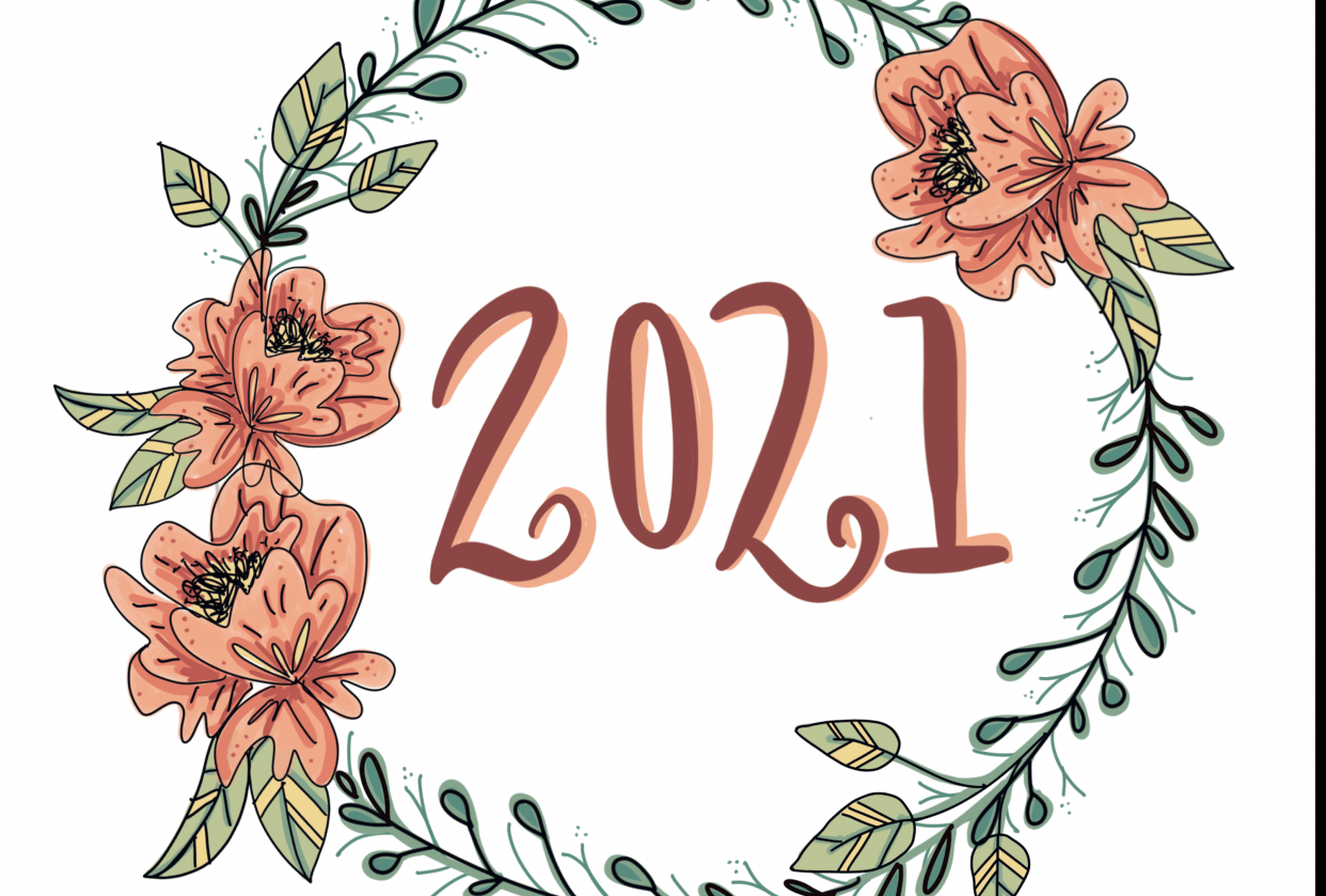 2021 Doodle wreath - student project