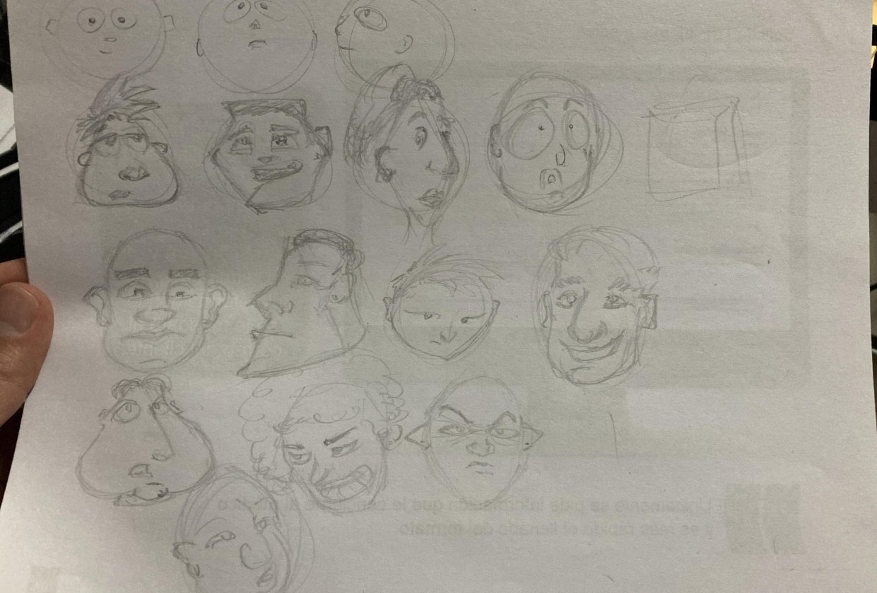 Heads - student project