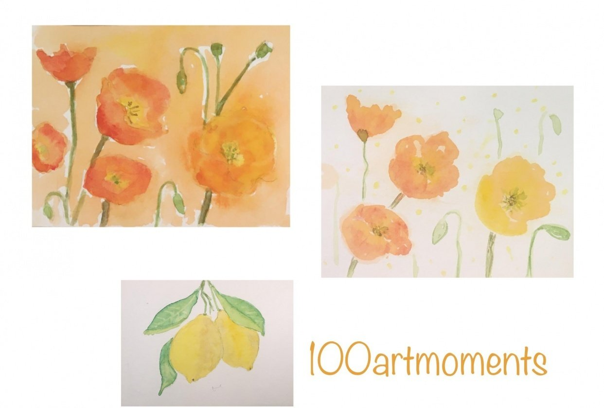 100ArtMoments - student project