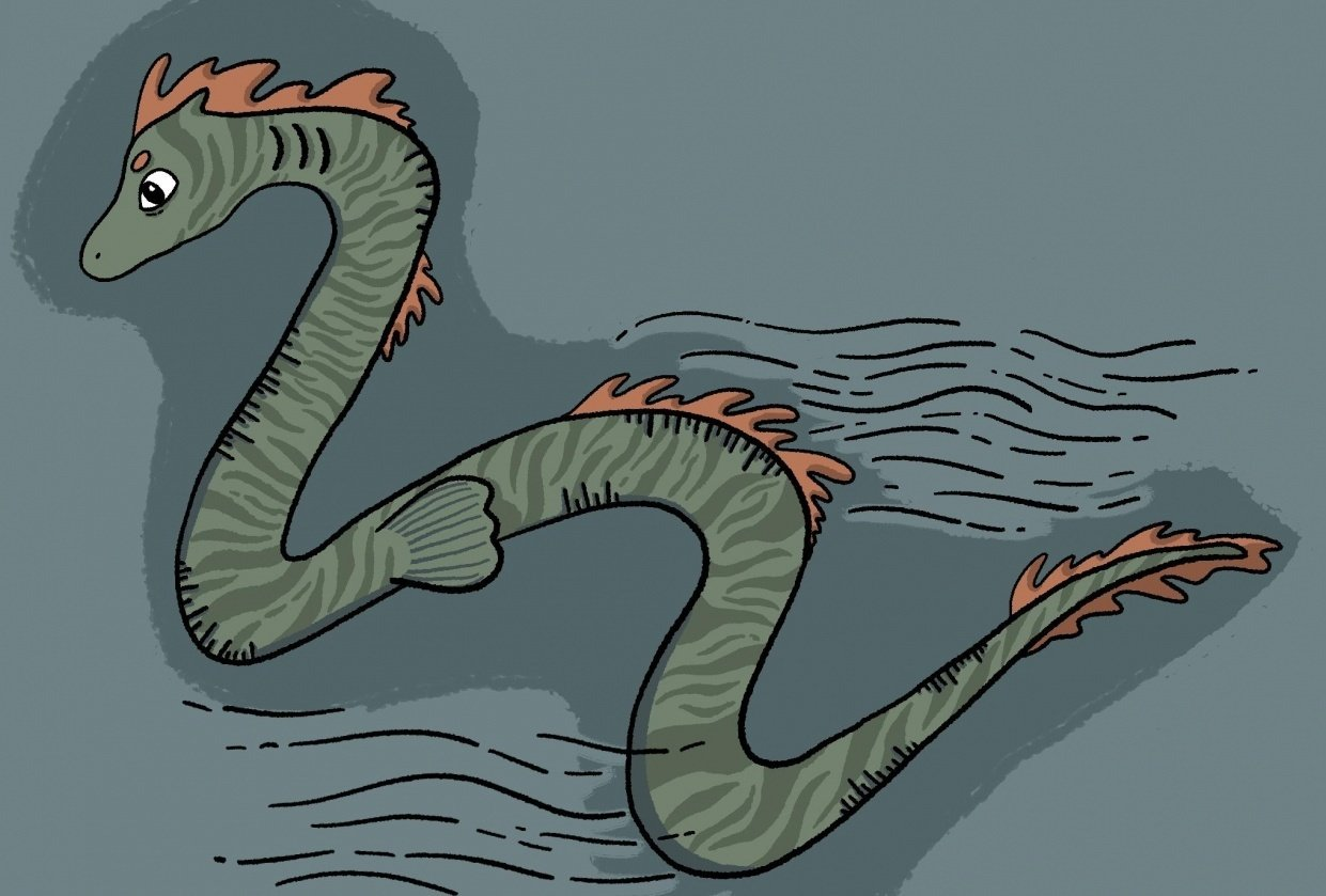 Sea monster - student project