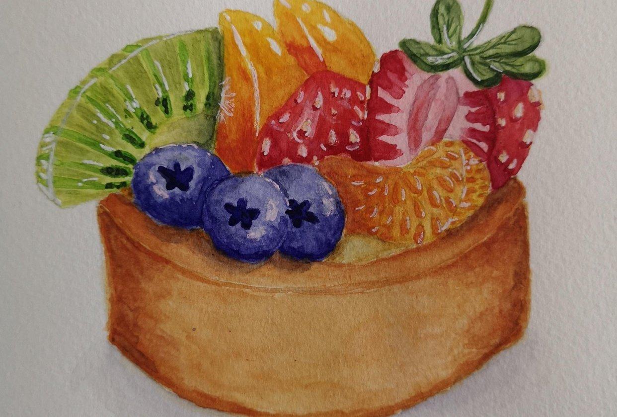 Fruit Tarte - student project
