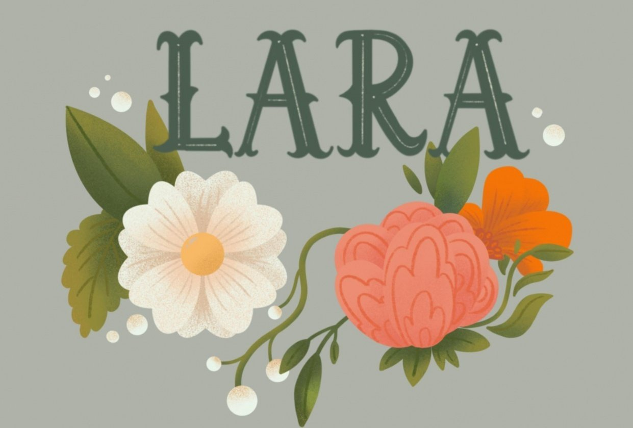 Fun with Florals _ Lara - student project