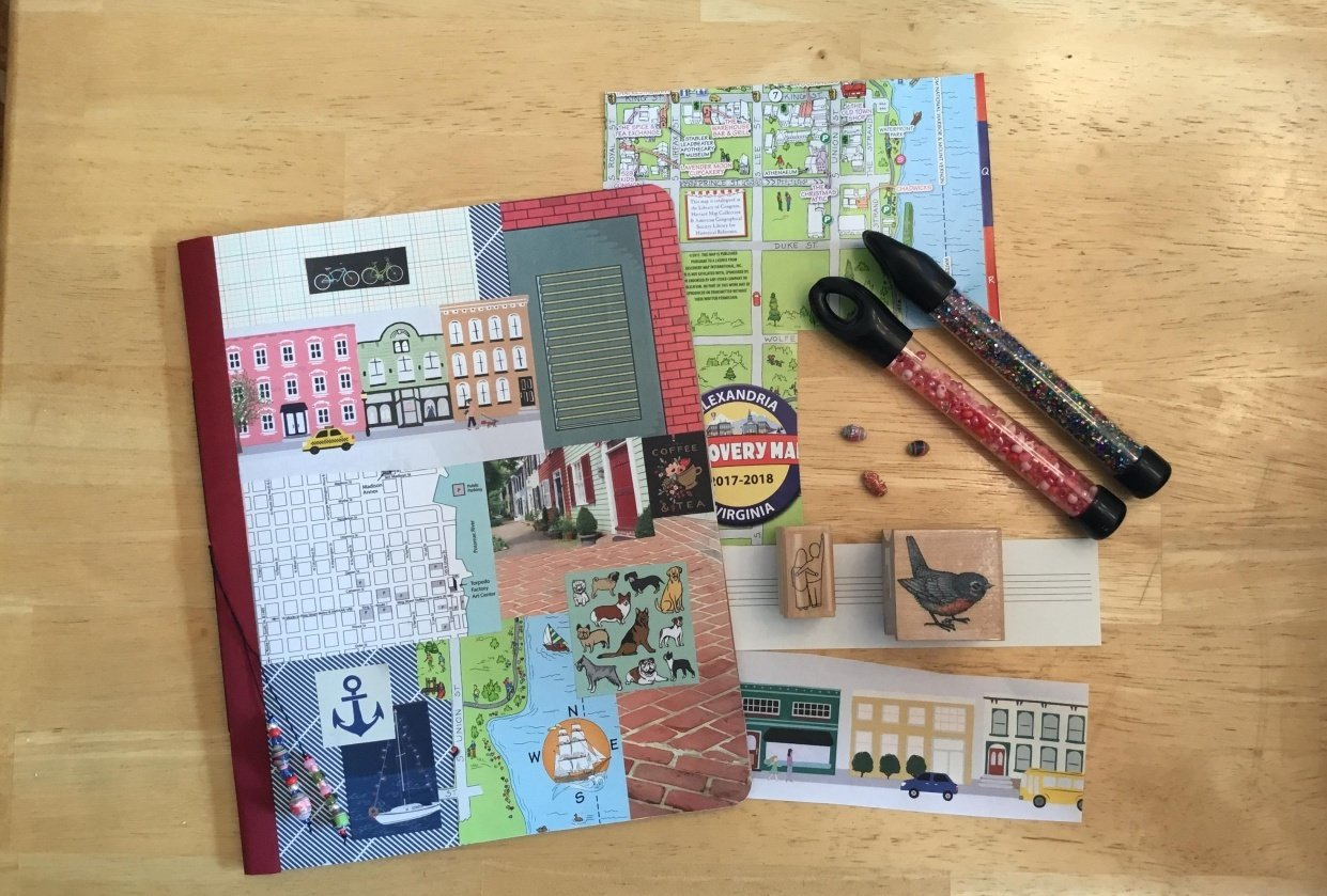 Old Town-Gypsy Journal - student project