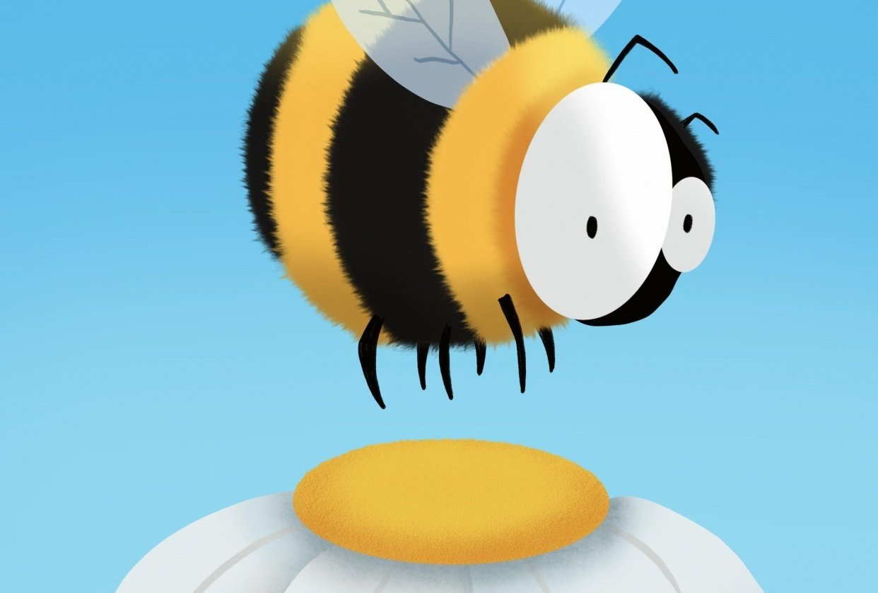 Bee animation with Flo - student project