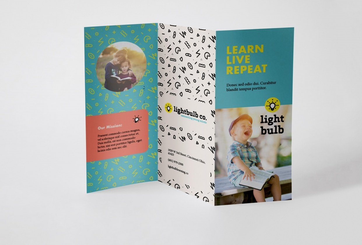 Trifold brochure - student project