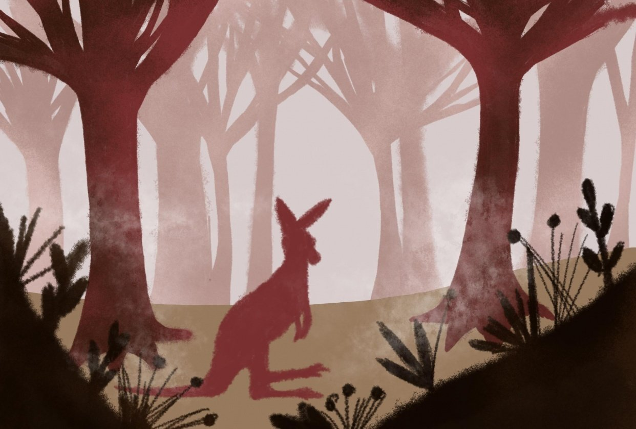 Forest scene - student project