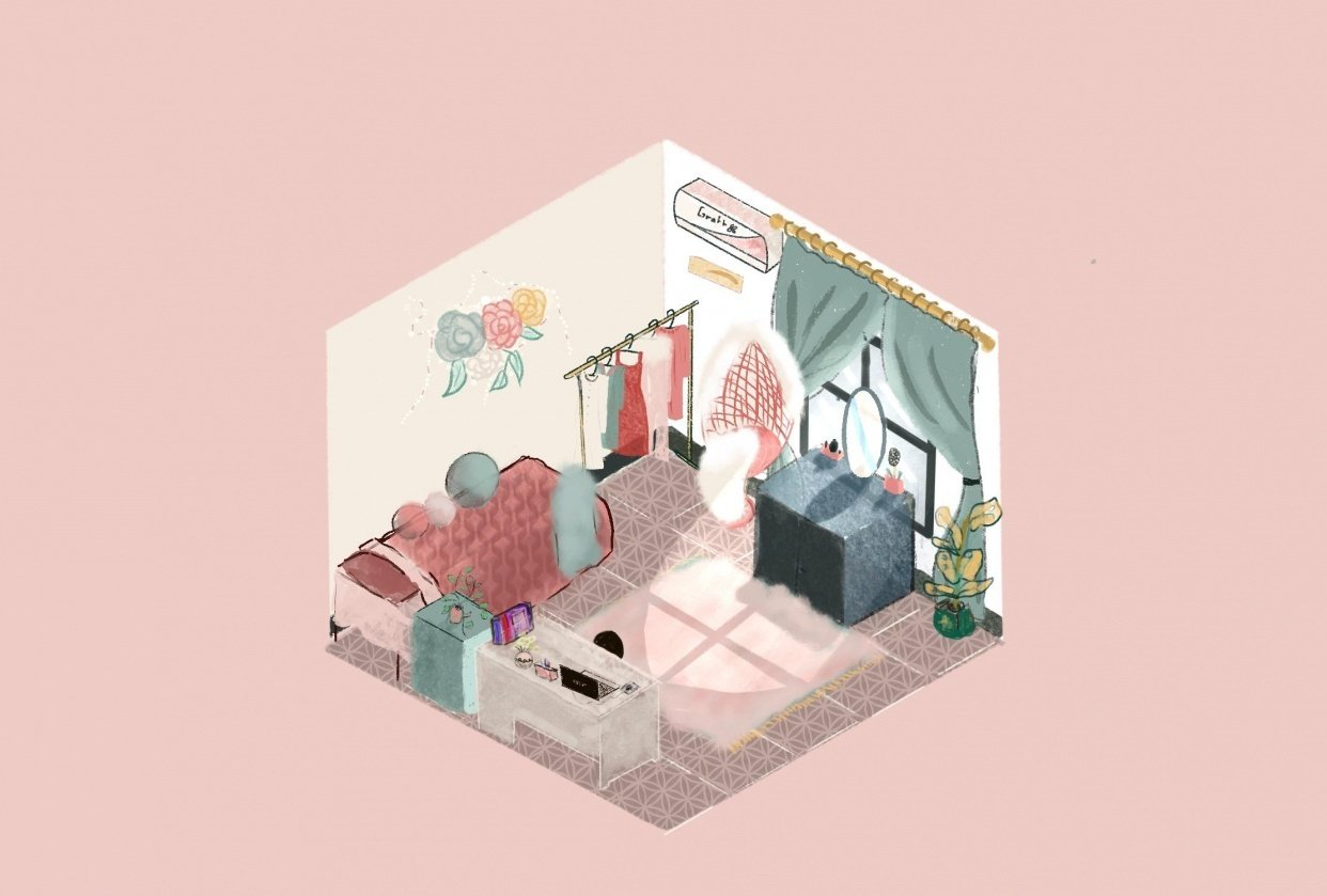 My bedroom - student project