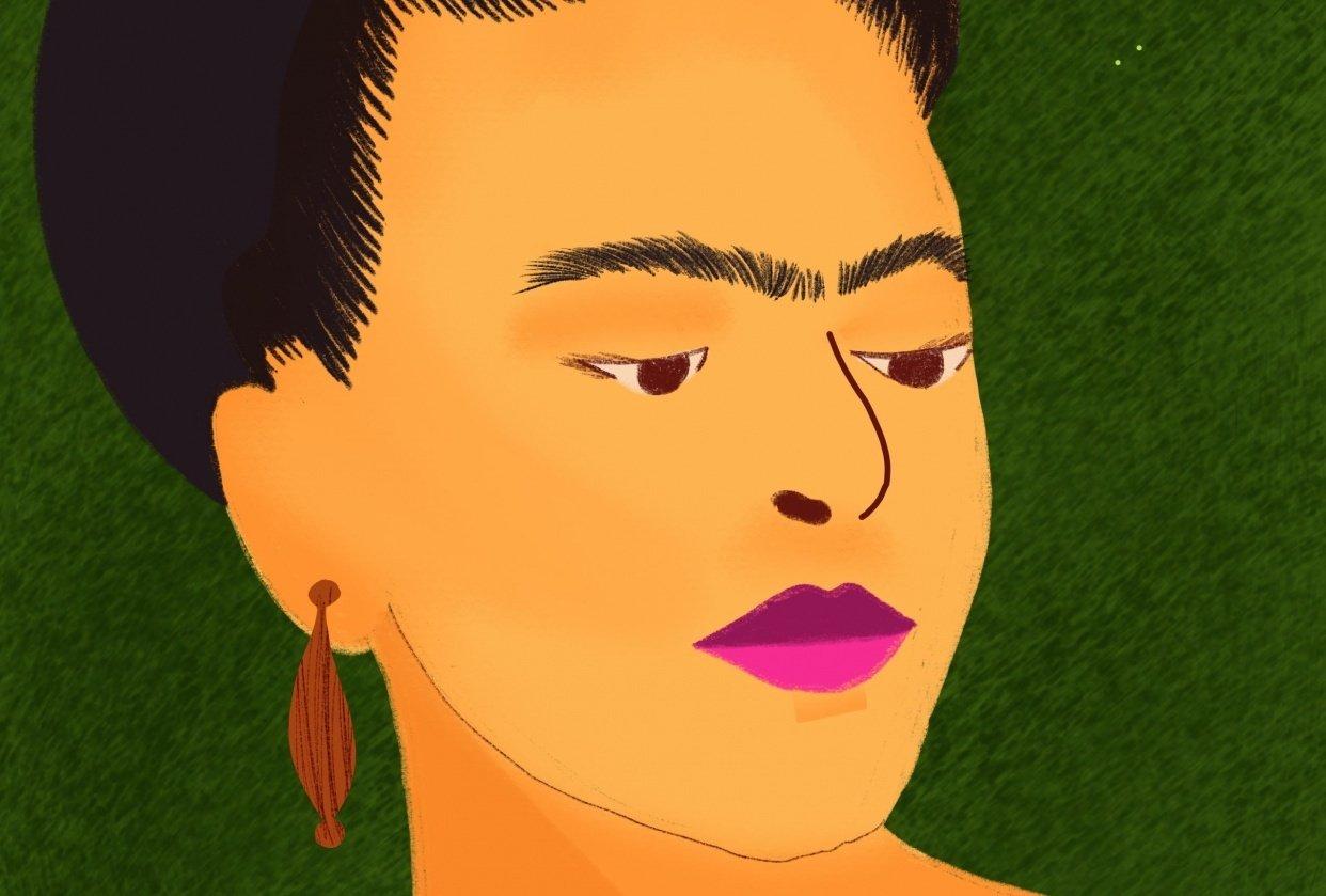 Freida Kahlo - student project
