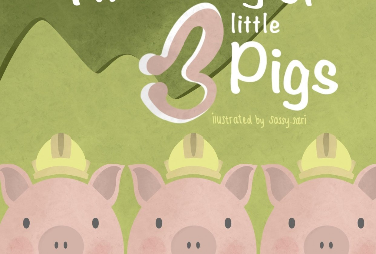 The Story of three little Pigs - student project